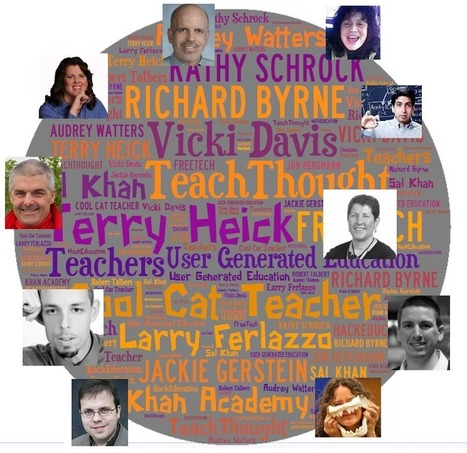 10 Brilliant and Inspiring Education and Technology Experts I Follow, and Why — Emerging Education Technologies | Edtech PK-12 | Scoop.it