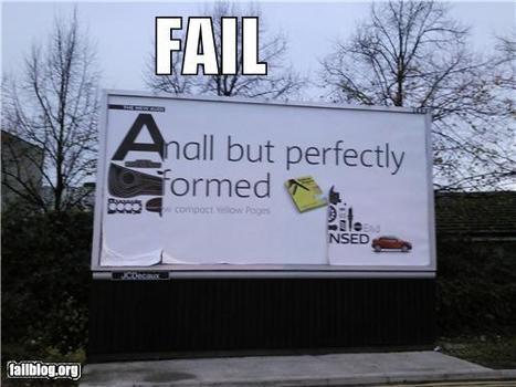 Billboard FAIL | Fail | Scoop.it