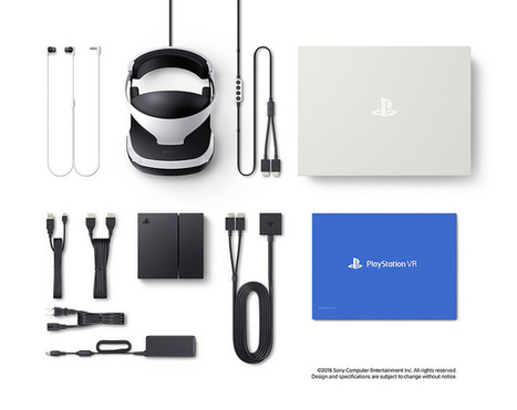 PlayStation VR: What You Do and Don't Get in the Box - Road to VR | 360-degree media | Scoop.it