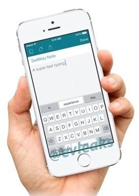 Le clavier alternatif SwiftKey se montre sur iPhone | iPhoneAddict.fr | Babe | Scoop.it