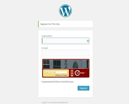 How to Add CAPTCHA in WordPress Login and Registration Form | Trailing WordPress | Scoop.it