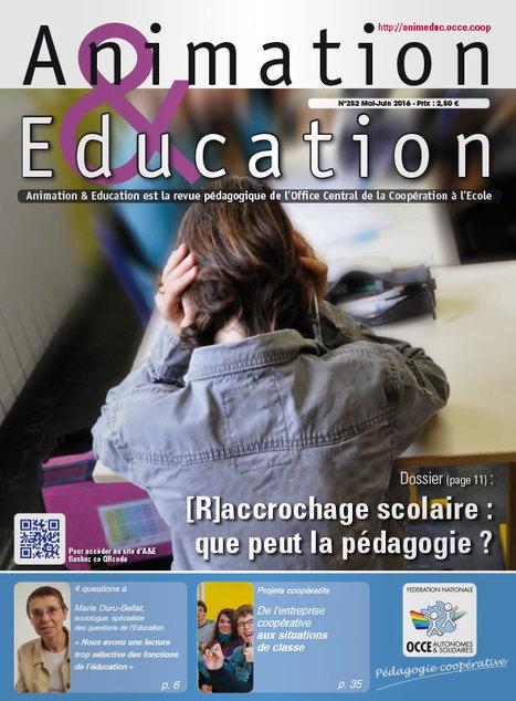 Animation & Education - n°252 - Mai/Juin 2016 | Les dernières revues reçues à la Bibliothèque ESPE Montauban | Scoop.it