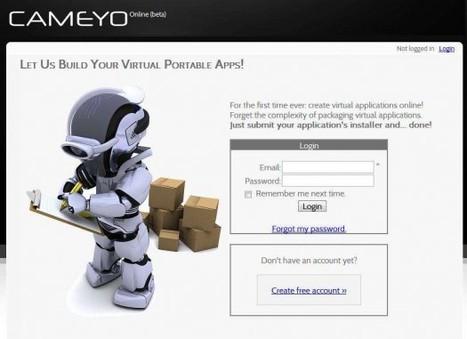 Création d'un application portable en ligne, Cameyo | Ballajack | Time to Learn | Scoop.it