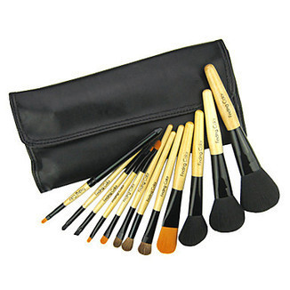 12Pcs Special Cosmetic Brush with Free Leather Case - makeupsuperdeal.com | Makeup Brushes | Scoop.it