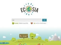 Ecosia, un moteur de recherche ecolo | Des 4 coins du monde | Scoop.it