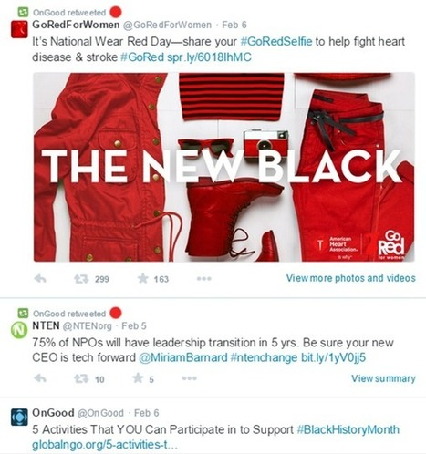 10 Twitter Best Practices for Nonprofits | Social Media Marketing For Non Profits | Scoop.it