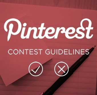 Pinterest's New Contest Guidelines for Brands | Artdictive Habits : Sustainable Lifestyle | Scoop.it