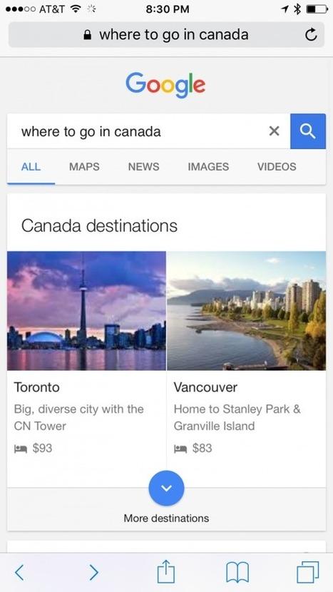 Google prueba su propio planificador de viajes   Les TICs en Turisme   Scoop.it