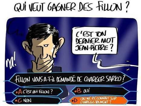 Affaire Jouyet VS Fillon : caricature de Na ! | Sarkozy Dégage | Scoop.it