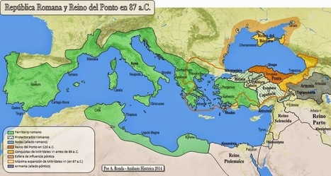 LUCIO CORNELIO SILA y La Primera Guerra Mitridática (87-85 a.C.) | Roma Antiqua | Scoop.it