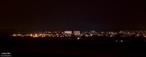 Hauteurs de #Châtellerault dans la nuit en attente des #orages #photography | Chatellerault, secouez-moi, secouez-moi! | Scoop.it