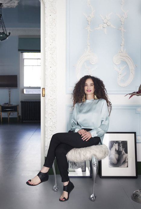 The London Home of Designer Danielle Moudaber | Yatzer | Travel Bites &... News | Scoop.it