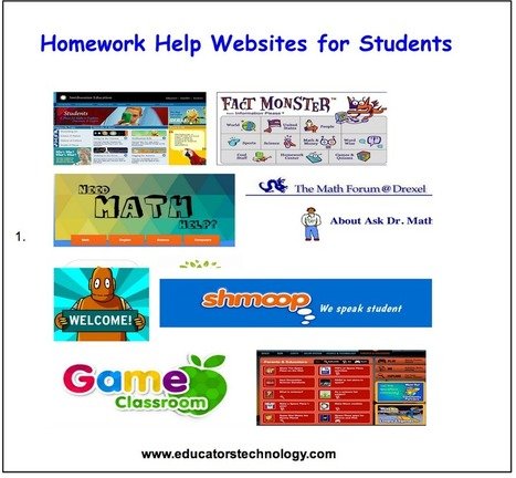 10 Great Homework Help Websites for Students | The 21st Century | Scoop.it