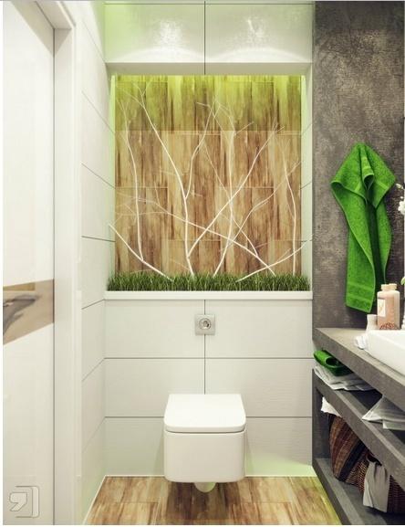 "Small Bathroom - Great Design   Alexanian Carpet & Flooring - ""The World at Your Feet"" www.alexanian.com   Scoop.it"