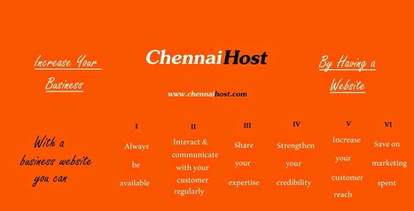 How can a Website improve your business? | ChennaiHost | E- Commerce-Shoppingcart | Scoop.it