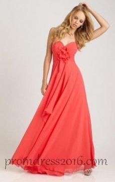 Perfect Chiffon Watermelon Bridesmaid Dress [PD201602170] - $148.00 : Prom Dresses | Prom Dresses 2016 | girlsdresseshop | Scoop.it