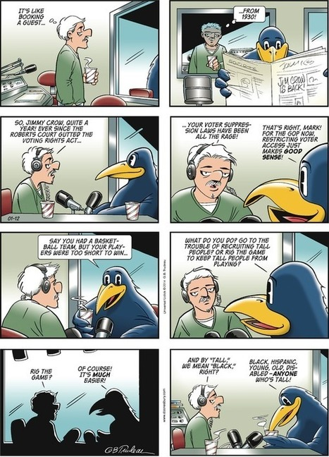 Doonesbury Strip | Election by Actual (Not Fictional) People | Scoop.it