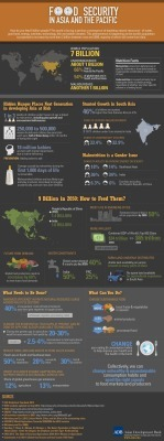 Food Security In Asia And The Pacific[INFOGRAPHIC] | Food Life Story | Scoop.it