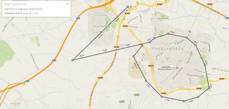 Google Maps ya permite medir distancias entre varios puntos | Giza Zientziak eta Geografia | Scoop.it