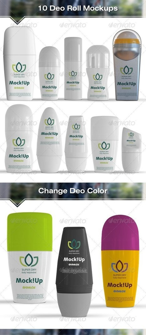 45+ Best Cosmetic Packaging Mock Up Templates – PSD, AI, EPS | Templates | Scoop.it