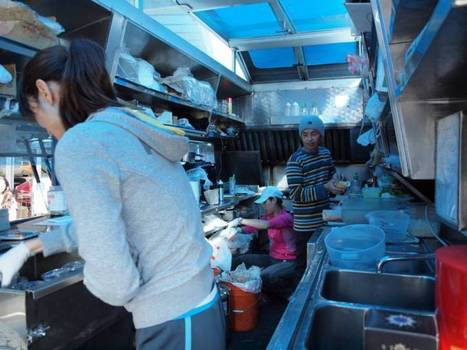 Inside a food truck | French foodie's chronicles | Wild Life | Scoop.it