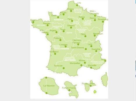 Réseau CHU:Nouvelle carte de France des CHU | Hopital 2.0 | Scoop.it
