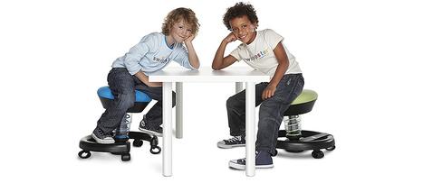 Siège ergonomique : les enfants aussi sont concernés   Swopper, pour s'asseoir autrement   Scoop.it