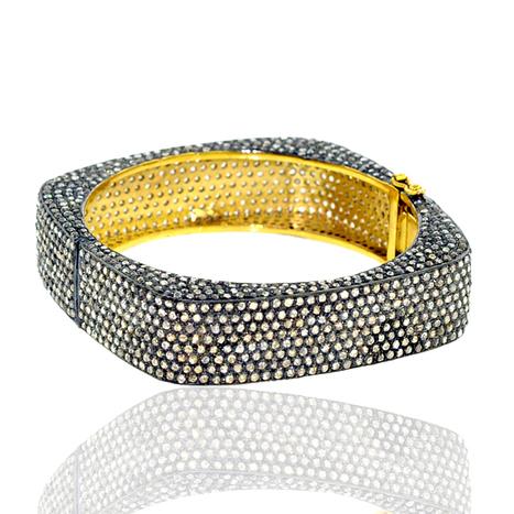 Pave Diamond Square Bangle | Diamond Jewelry | GemcoDesigns | Pave Diamond Bangle | Diamond Jewelry | GemcoDesigns | Scoop.it