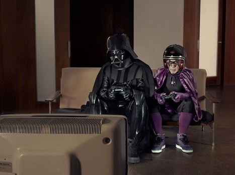 Dark Superhero Grandpa Befriends Darth Vader - My Modern Metropolis   Art et Culture   Scoop.it