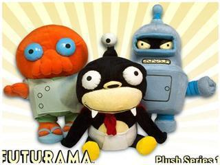 Un nouveau set de peluches Futurama | All Geeks | Scoop.it
