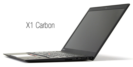 Lenovo Reveals Lighter ThinkPad X1 Carbon at CES 2014 | Reviews | Scoop.it