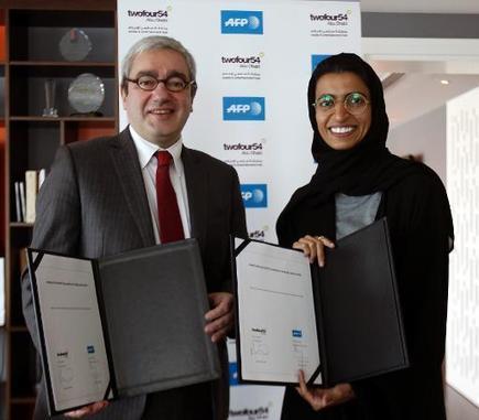 TV5MONDE : actualites : Partenariat entre la Fondation AFP et Twofour54 d'Abou Dhabi | Pratiques journalistiques - Monde arabe | Scoop.it