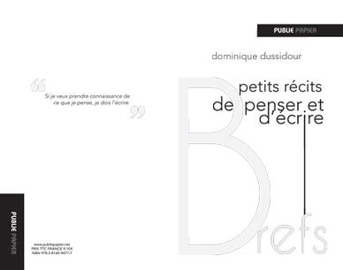 Dominique Dussidour - Littérature - France Culture | Publie.net | Scoop.it