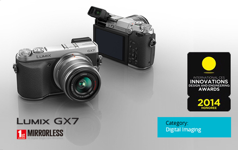 One more award for our Lumix GX7   Panasonic Blog   Panasonic GX-7   Scoop.it