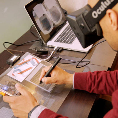 Movie: Gravity Sketch, an augmented and virtual reality drawing tablet   Architecture & Design   Scoop.it