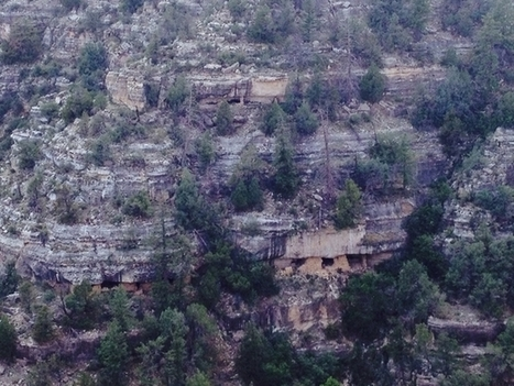 Abandoned Native American ruins on the side of a cliff at Walnut Canyon NP Coconino County AZ   Exploration: Urban, Rural and Industrial   Scoop.it