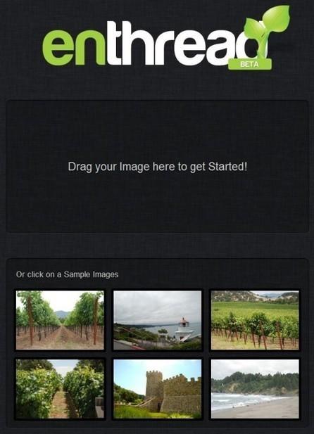 Un outil photo basique pour traiter ses images, Enthread | Ballajack | Retouches et effets photos en ligne | Scoop.it