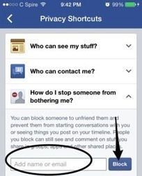 Facebook User bugging you...How to block someone on Facebook   Online Security 123   Scoop.it