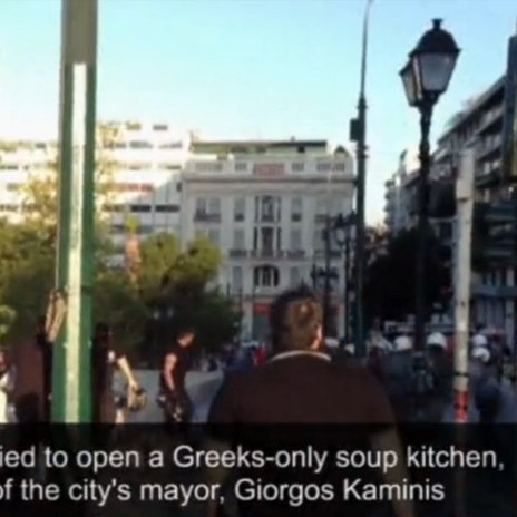 Athens Protests Erupt After Extremists Hand Out Free Food to Greeks Only and ... - PolicyMic | The Indigenous Uprising of the British Isles | Scoop.it