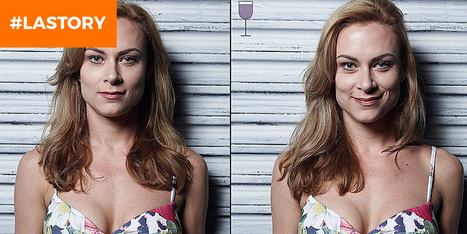 Il photographie ses amis (avant et) après plusieurs verres de vin | PhotoActu | Scoop.it