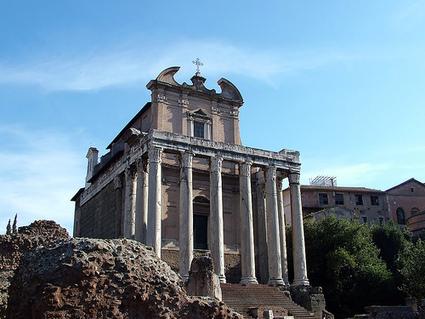 El Templo de Antonino y Faustina | El Panteón romano | Scoop.it