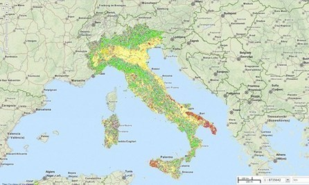 Consumo di suolo, per monitorarlo nasce 'Soil Monitor' | Urbanistica e Paesaggio | Scoop.it
