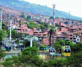 Colombie : Medellin, la révolution des transports | transports par cable - tram aérien | Scoop.it