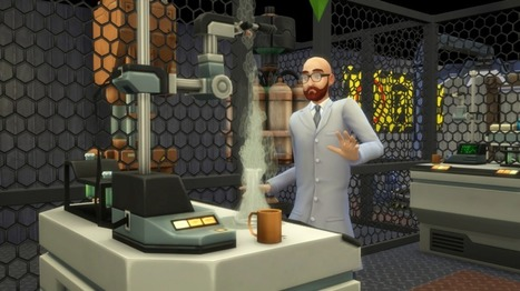 The Sims 4 Get to Work: Reaching a Scientific Breakthrough << Sims Community | Second Life | Scoop.it