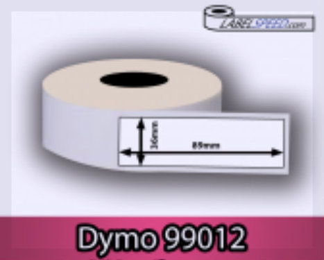 Dymo 99012 compatible etiketten- Labelspeed | Dymo 99010 compatible etiketten | Scoop.it