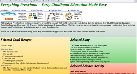 5 Time-Saving Websites For Preschool Teachers | Educational Technology - Yeshiva Edition | Scoop.it