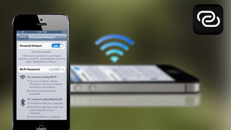 How to make your iPhone Wi-Fi hotspot - SoftwareVilla News   Into the Driver's Seat   Scoop.it