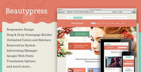 BeautyPress - Responsive WordPress Theme   Medical wordpress themes   Scoop.it