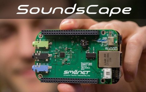 SoundsCape is a new audio add-on board for the BeagleBone and BB Black | Raspberry Pi | Scoop.it