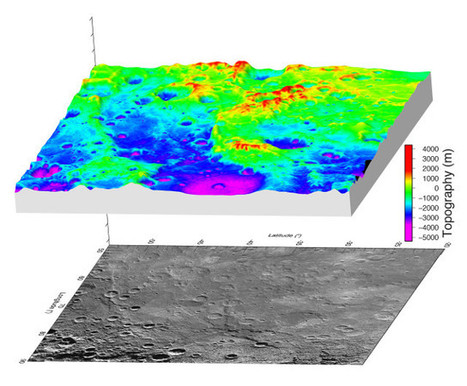 A great valley discovered on the planet Mercury | Astronomy | Scoop.it